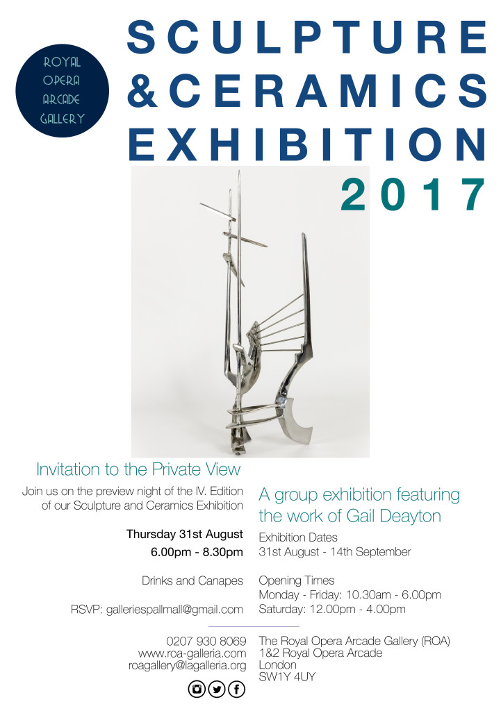 Royal Opera Gallery S&C Invite 2017
