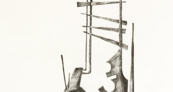 Untitled Sculpture Drawing iv