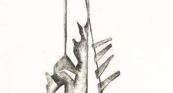 Untitled Sculpture Drawing vii